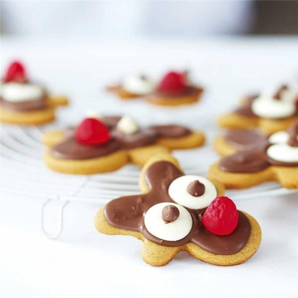 Reindeer Gingerbread Biscuits