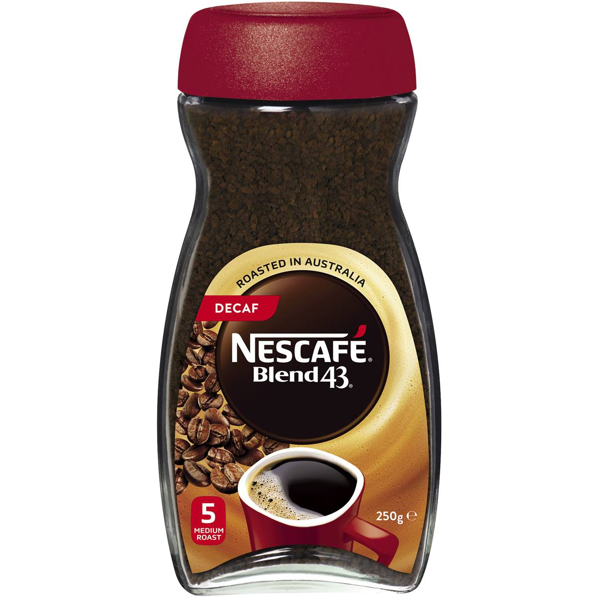 Nescafe Blend 43 Decaffeinated Instant Coffee