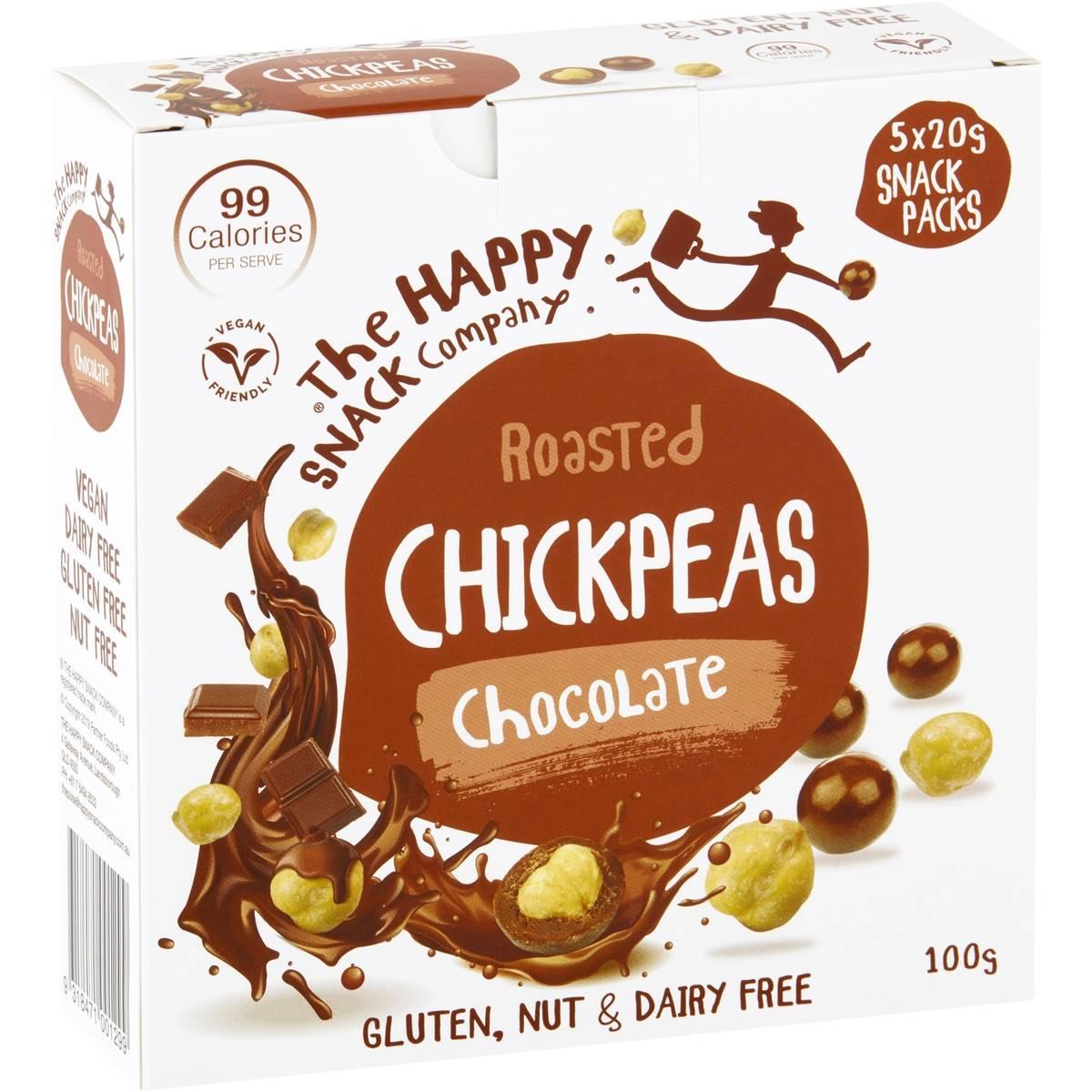 The Happy Snack Company Chickpeas Chocolate