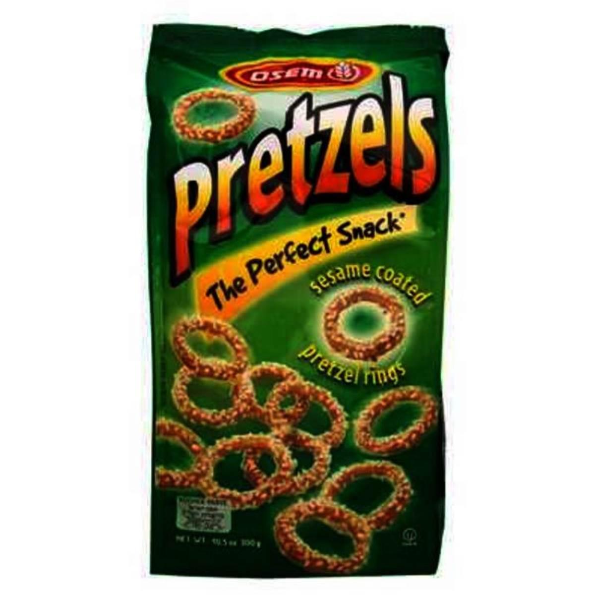 Osem Snacks Pretzels Sesame Rings
