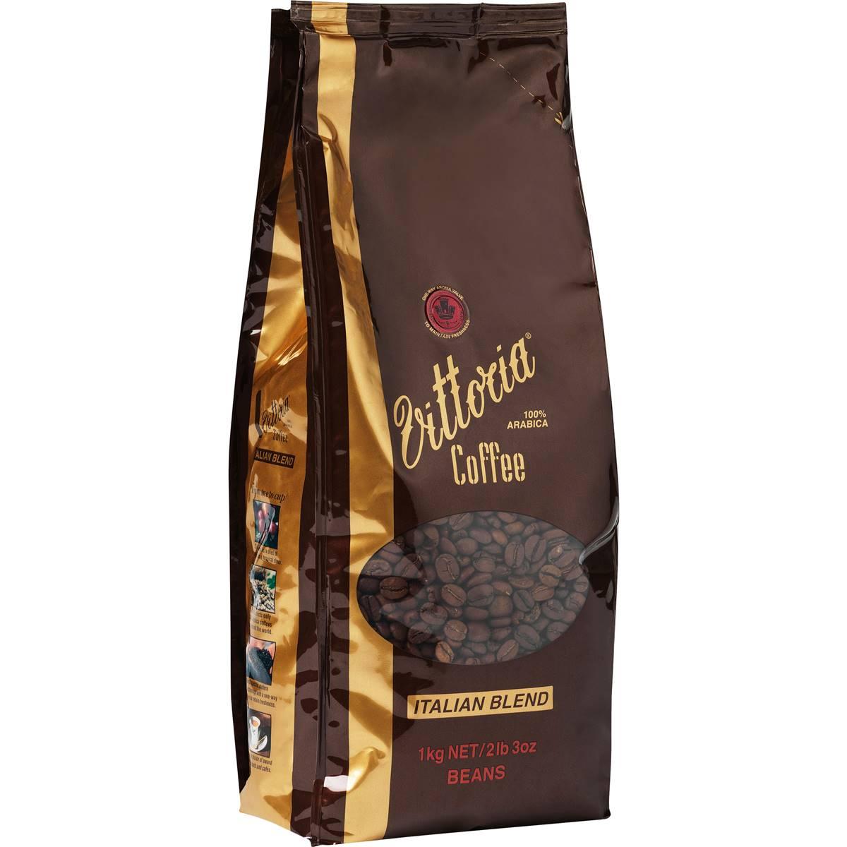 Vittoria Coffee Beans Special Italian Blend