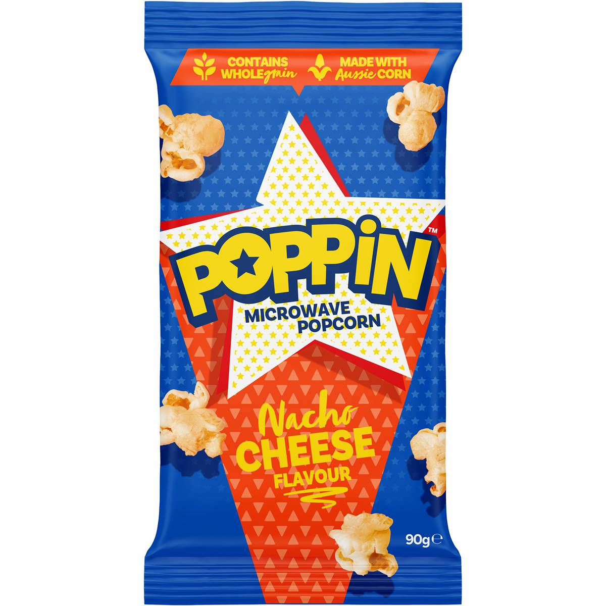 Poppin Microwave Popcorn Cheese Flavour