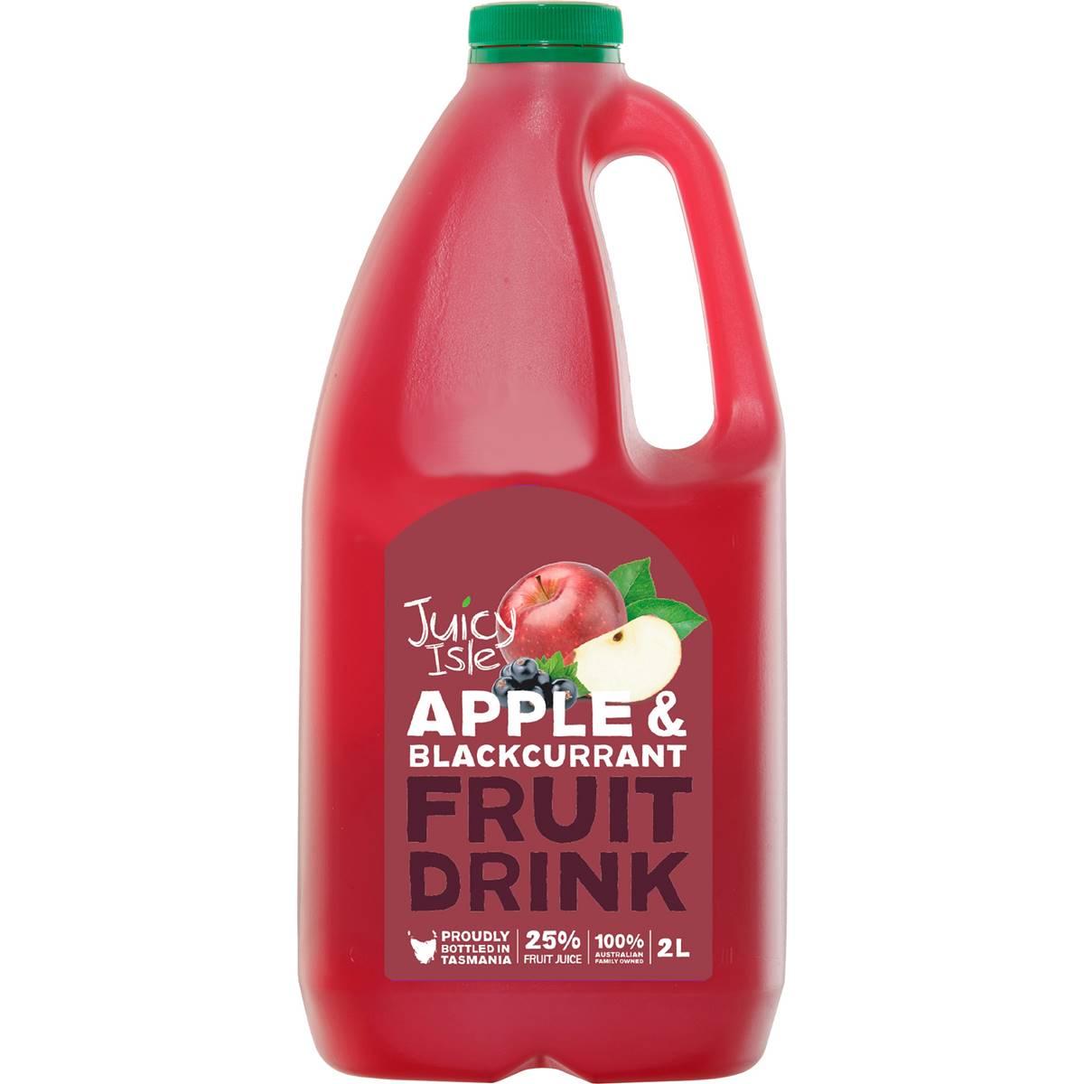 Juicy Isle Apple & Blackcurrant Fruit Drink