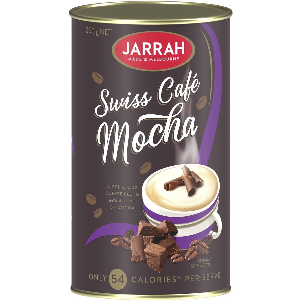 Jarrah Swiss Mochaccino Swiss Style Cocoa 98% Fat Free