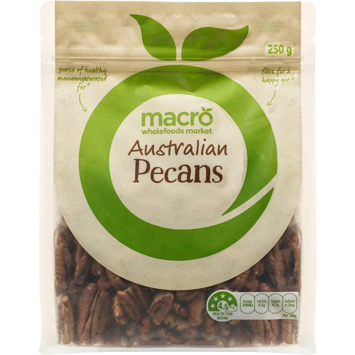 Macro Australian Pecans