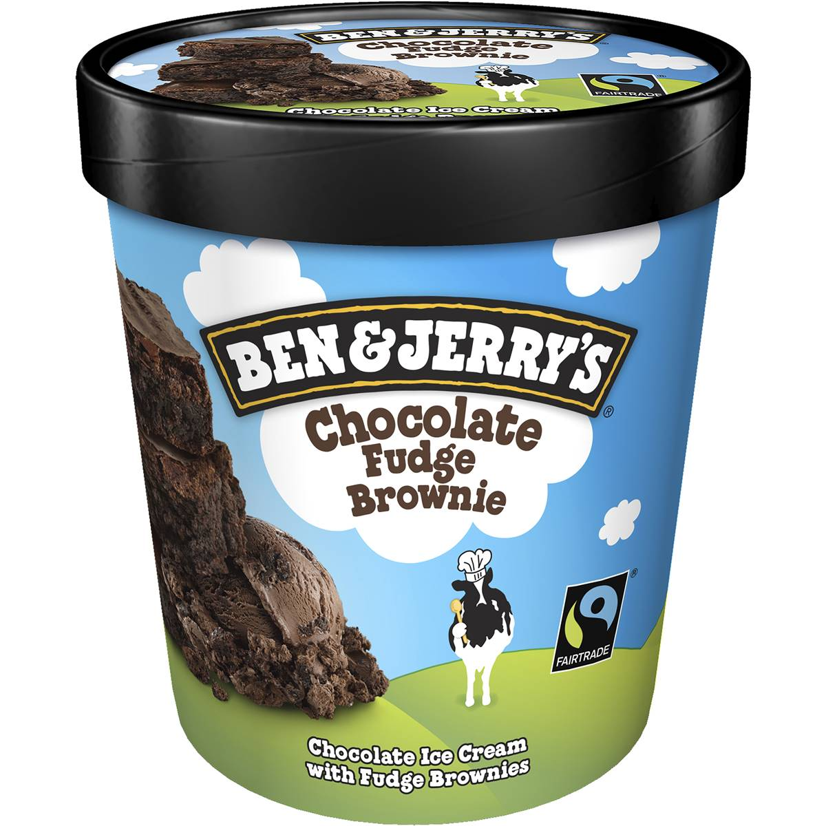 Ben & Jerry's Ice Cream Chocolate Fudge Brownie