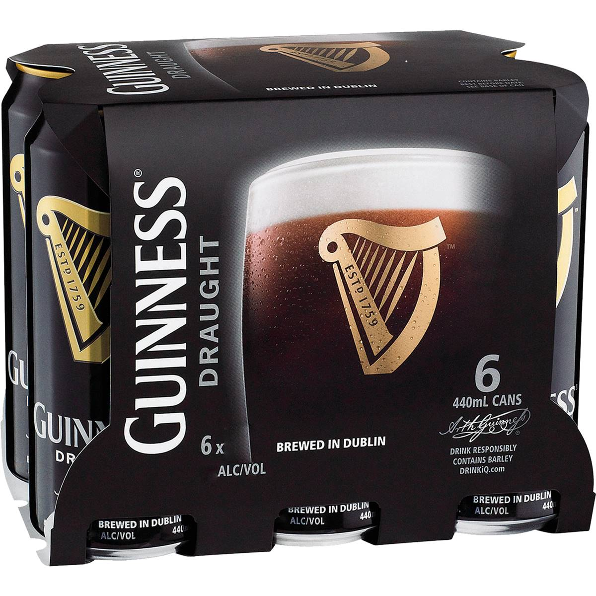 Guinness Draught Stout Cans