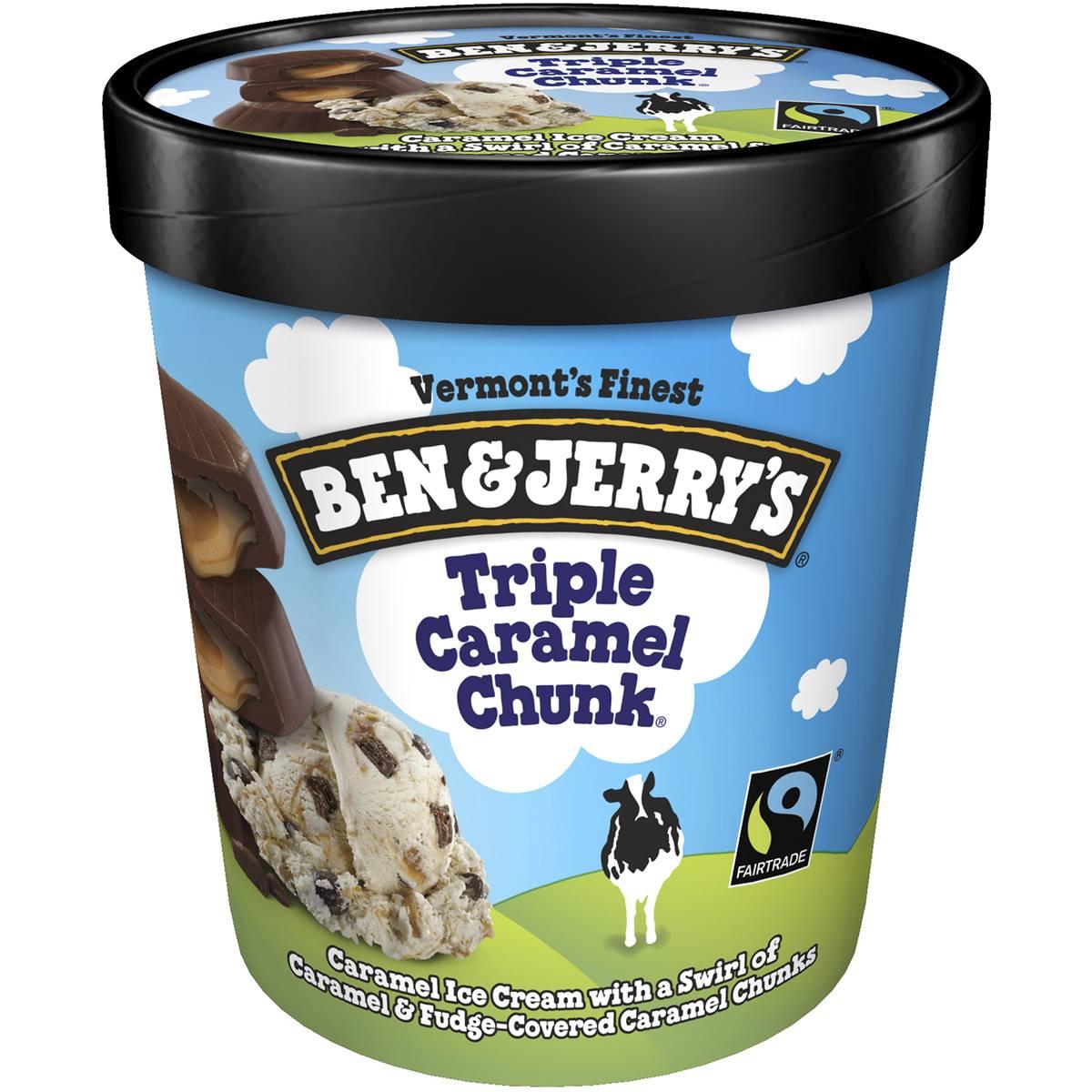 Ben & Jerry's Triple Caramel Chunk Ice Cream