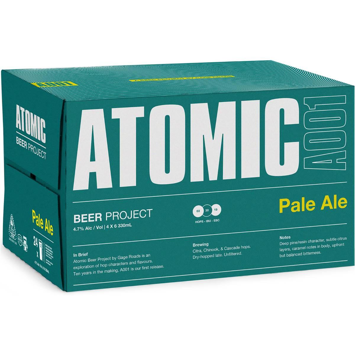 Gage Roads Atomic Pale Ale Bottles