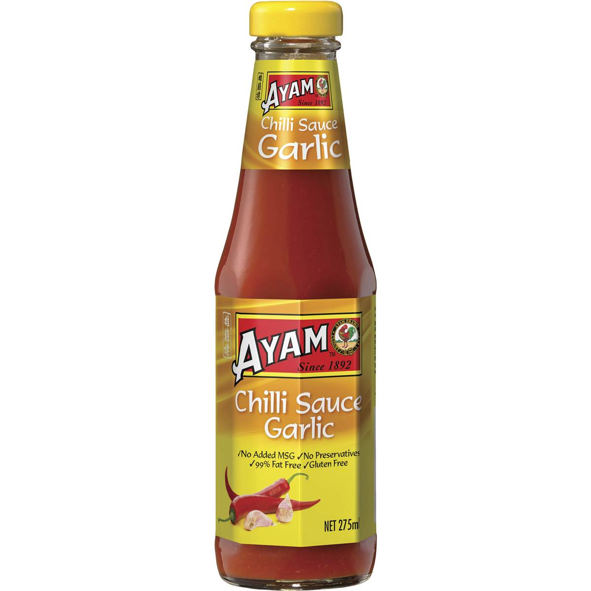 Ayam Sauce Garlic Chilli 275ml Woolworths