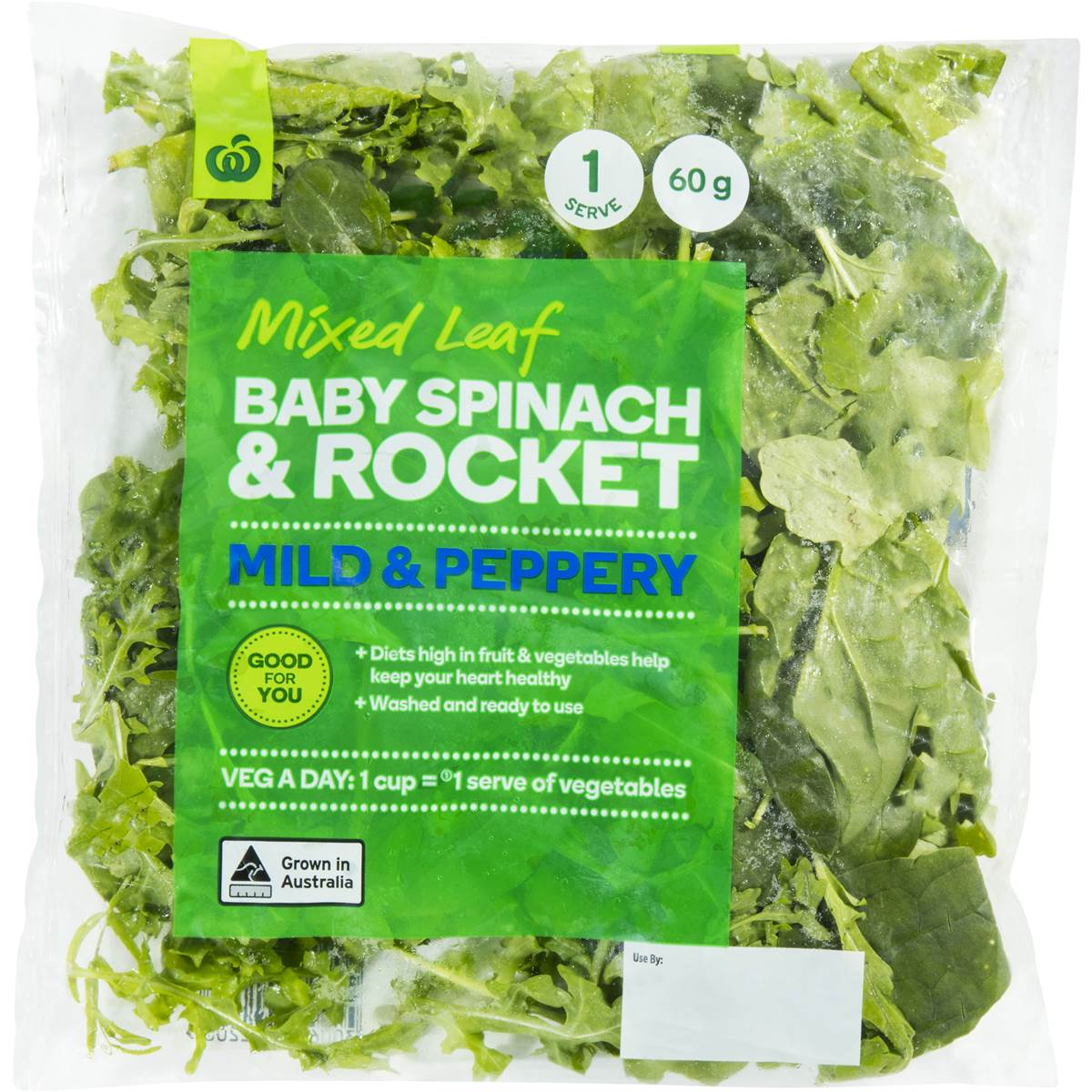 Woolworths Baby Spinach Salad With Rocket