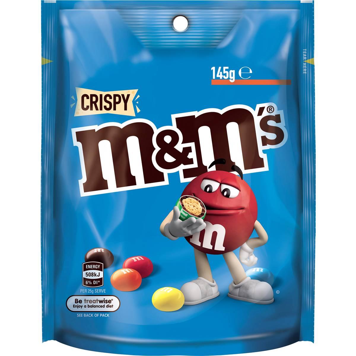 M&m's Crispy Chocolate Medium Bag