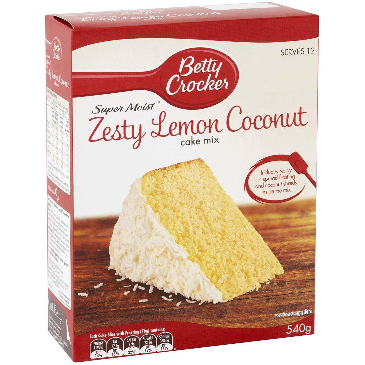 Betty Crocker Coconut Pound Cake