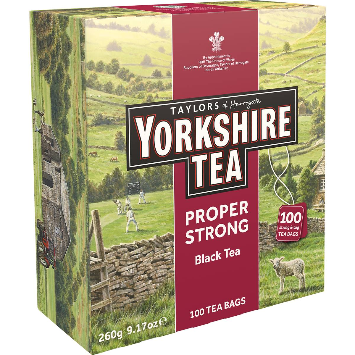 Taylors Of Harrogate Yorkshire Extra Strong Tea Bags