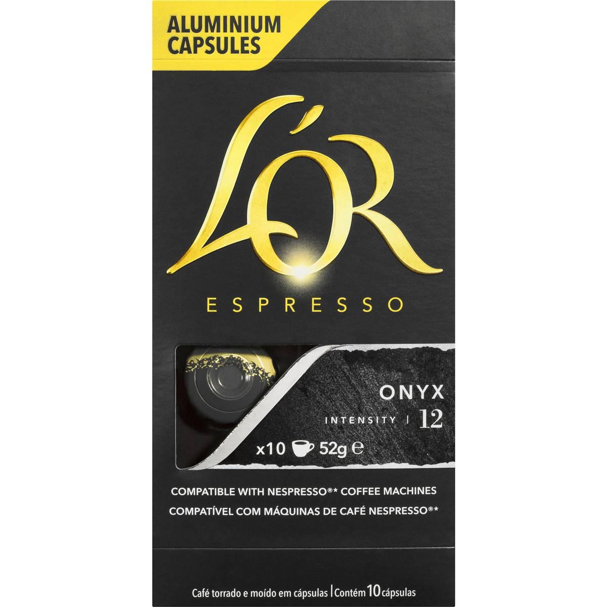 L'or Espresso Onyx Coffee Capsule