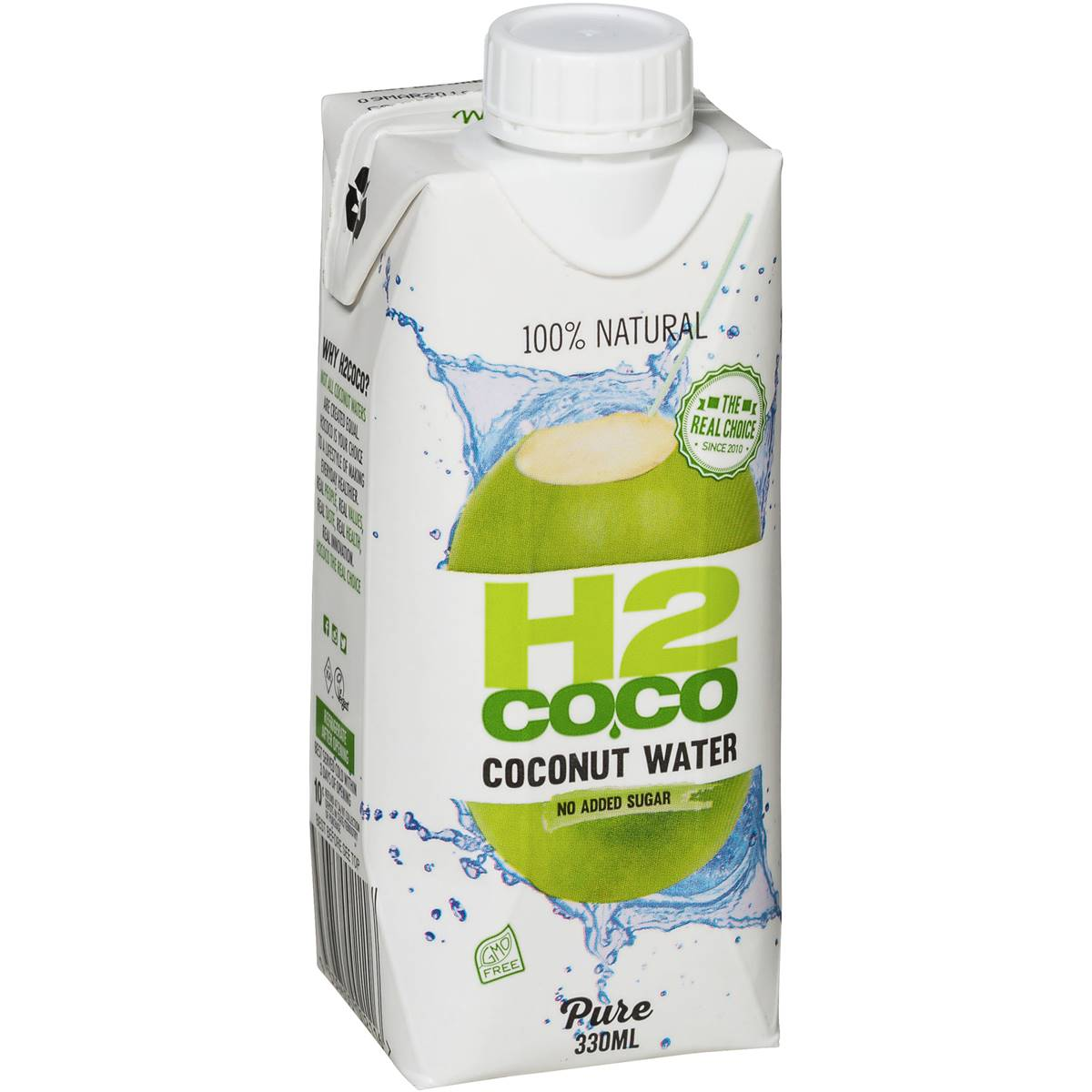 H2coco 100 Natural Pure Coconut Water