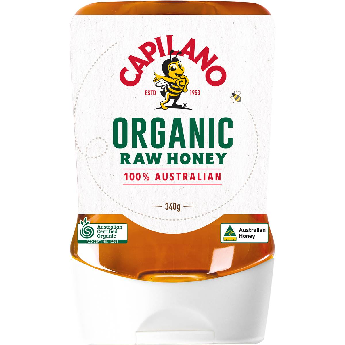 Just Organic Australian Honey 500g | Compare Club