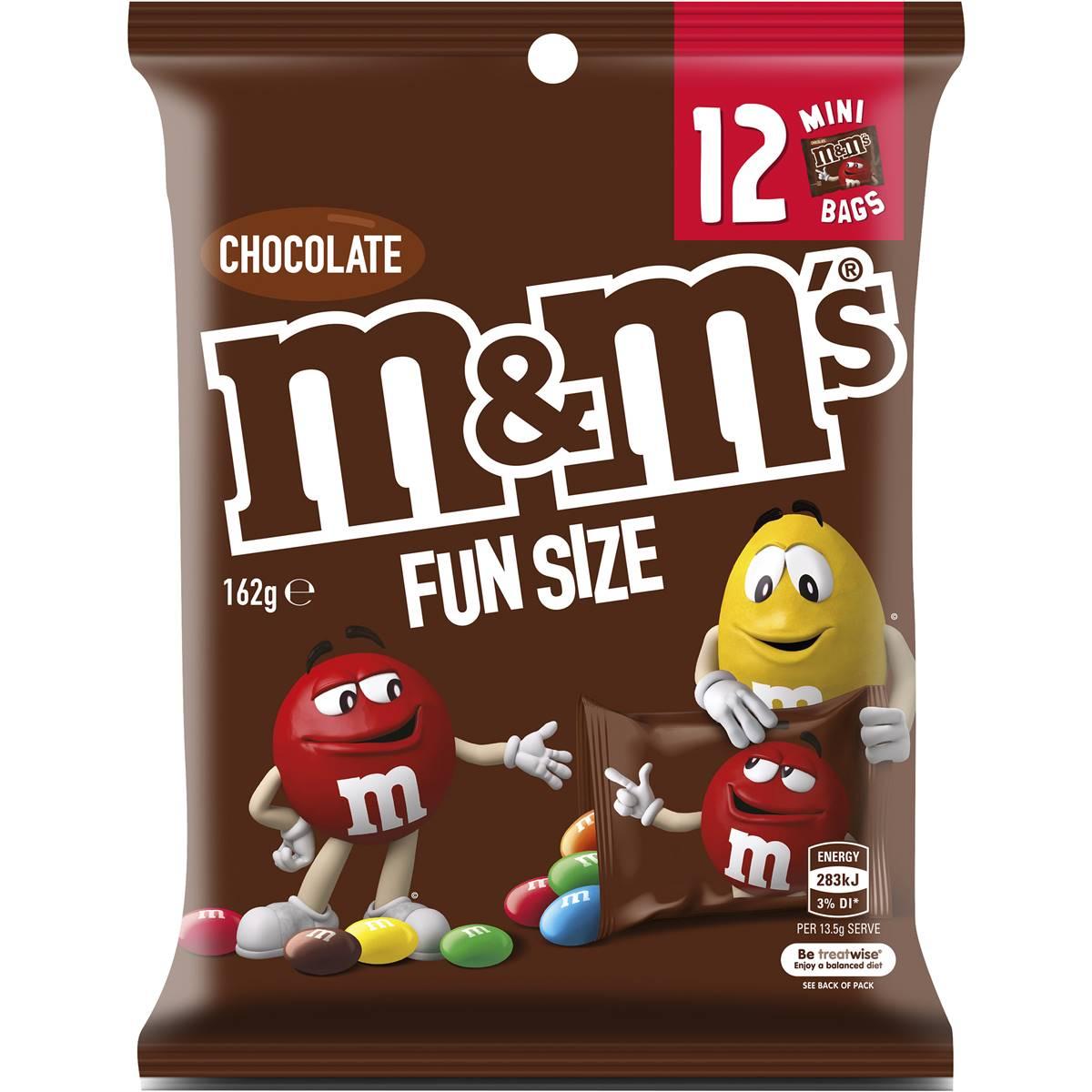 M&m's Chocolate Medium Party Share Bag 12 Piece