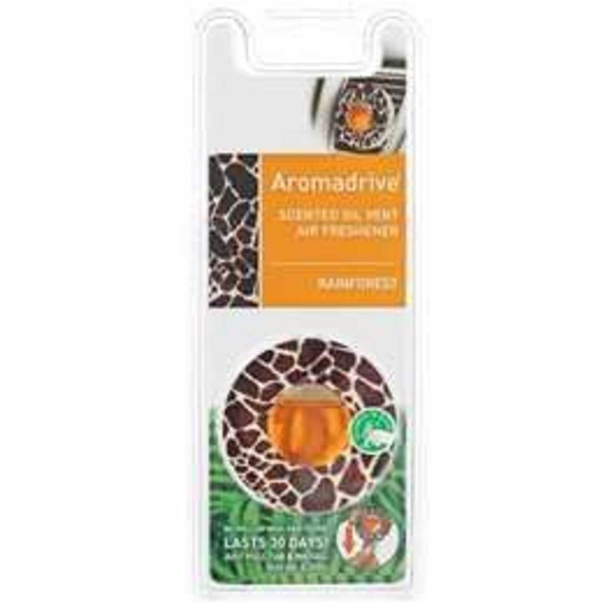 Aromadrive air freshener scented oil vent each