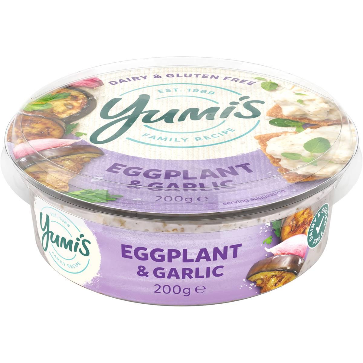 Yumi's Dips Eggplant & Garlic
