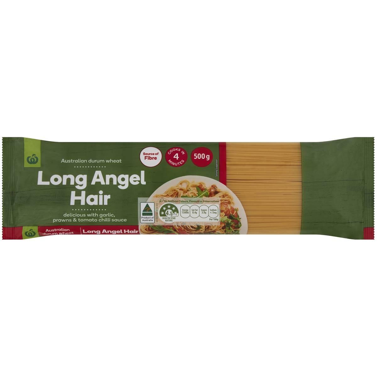 Woolworths Long Angel Hair Pasta