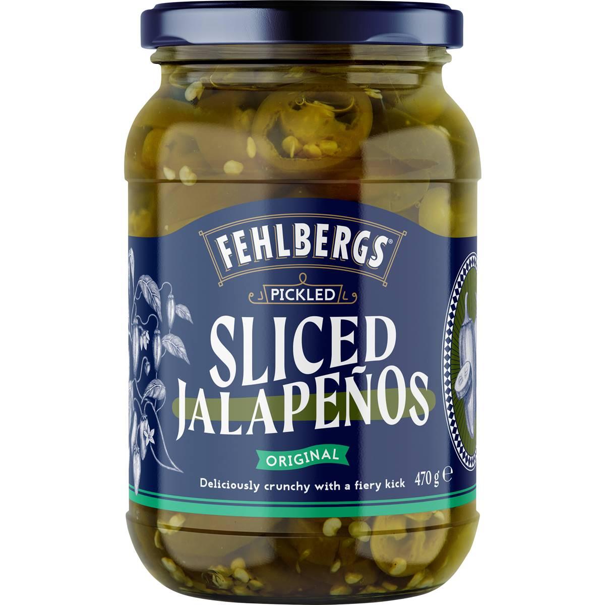 Fehlbergs Jalapenos Pickled