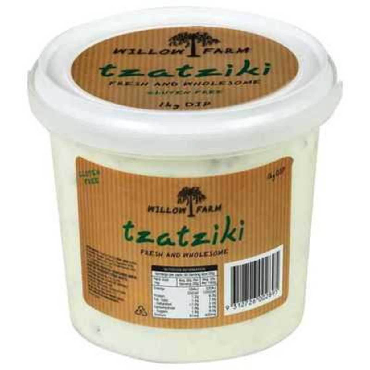 Willow Farm Dip Tzatziki 1kg Woolworths