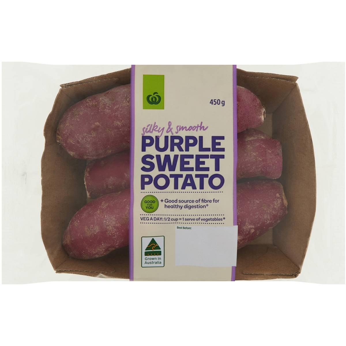 Woolworths Sweet Potato Purple Prepack