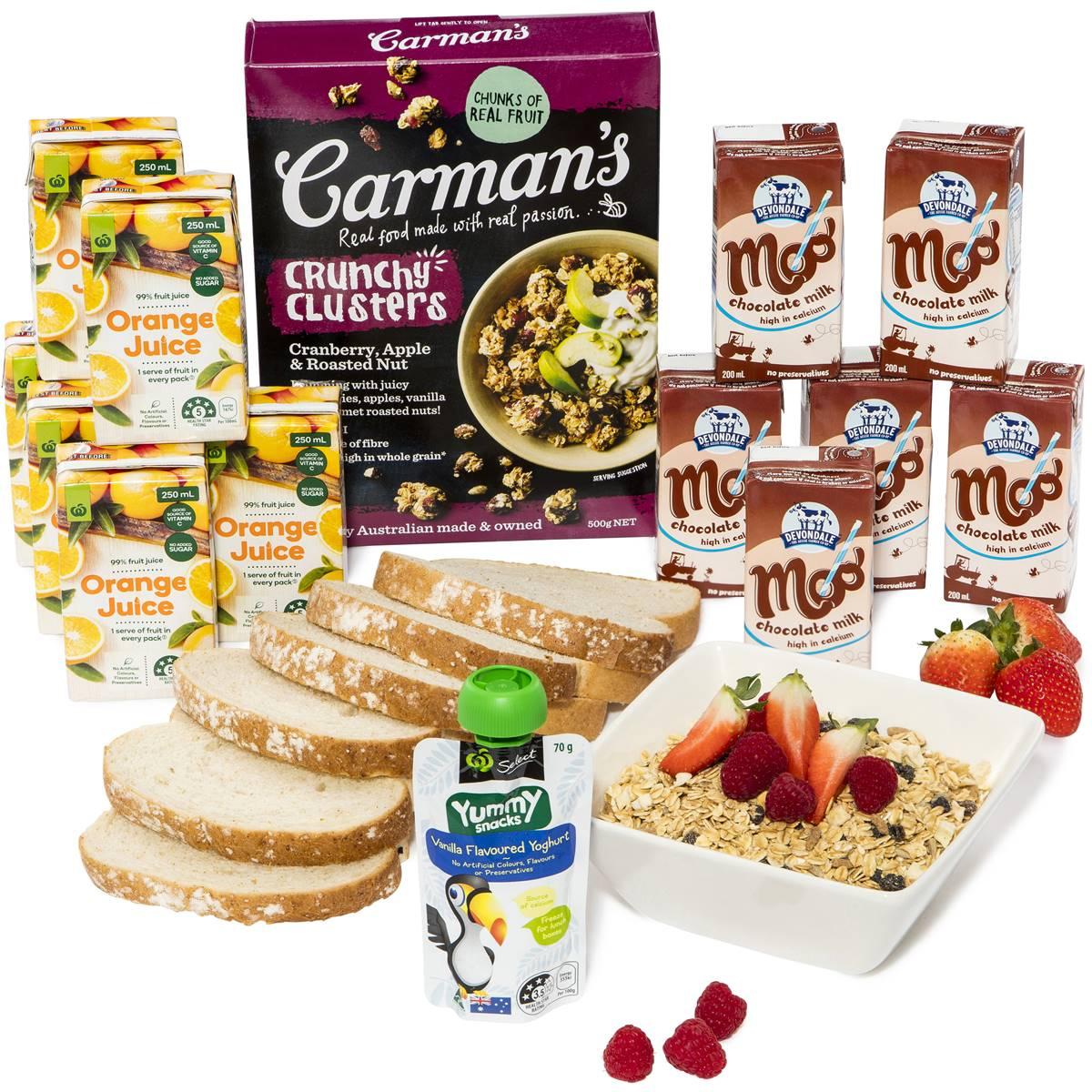 Kids Lunchbox Drink Poppers & Healthy Snacks Bundle ...