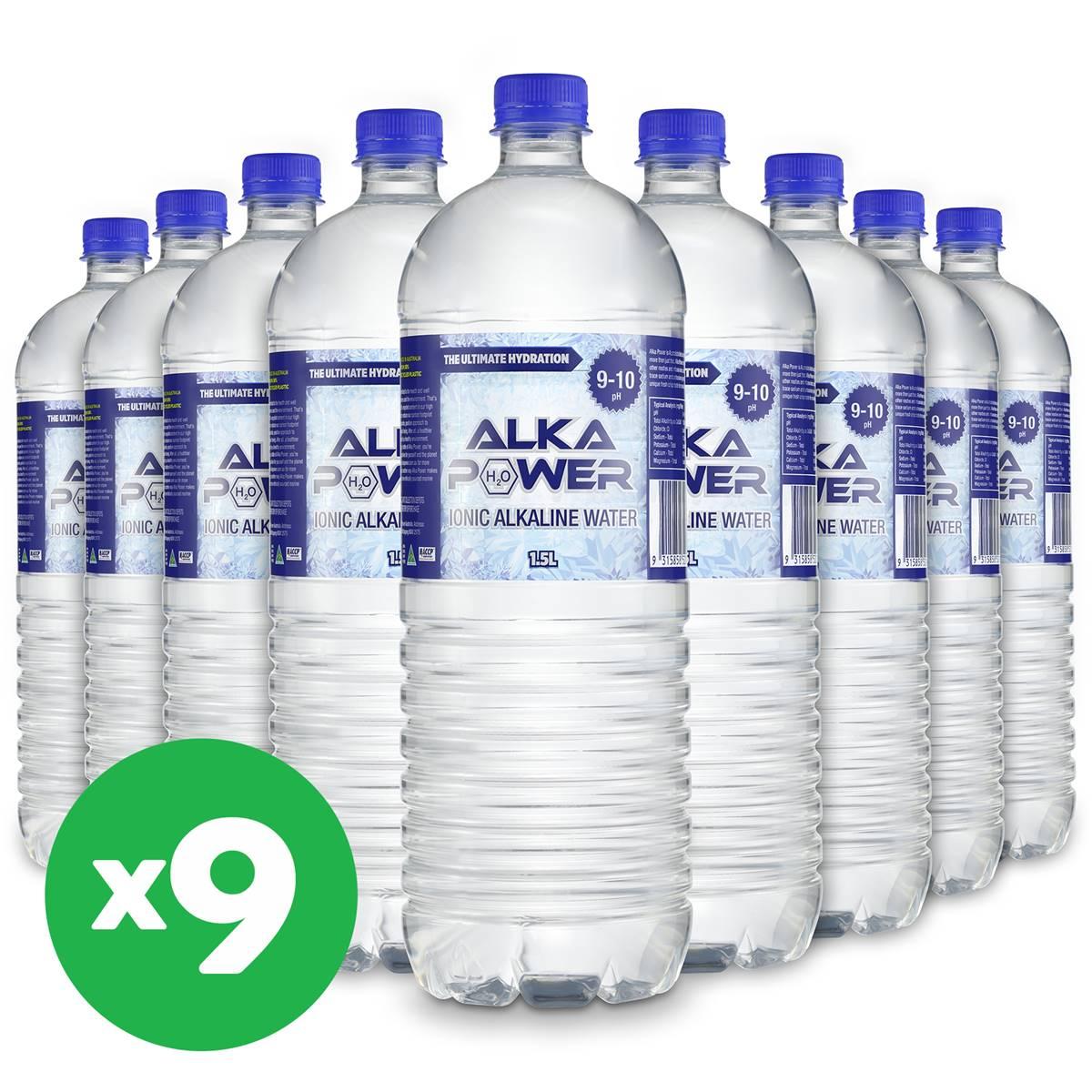 Alka Power Alkaline Water Bottles L X Bundle Woolworths - Alkaline water bottle