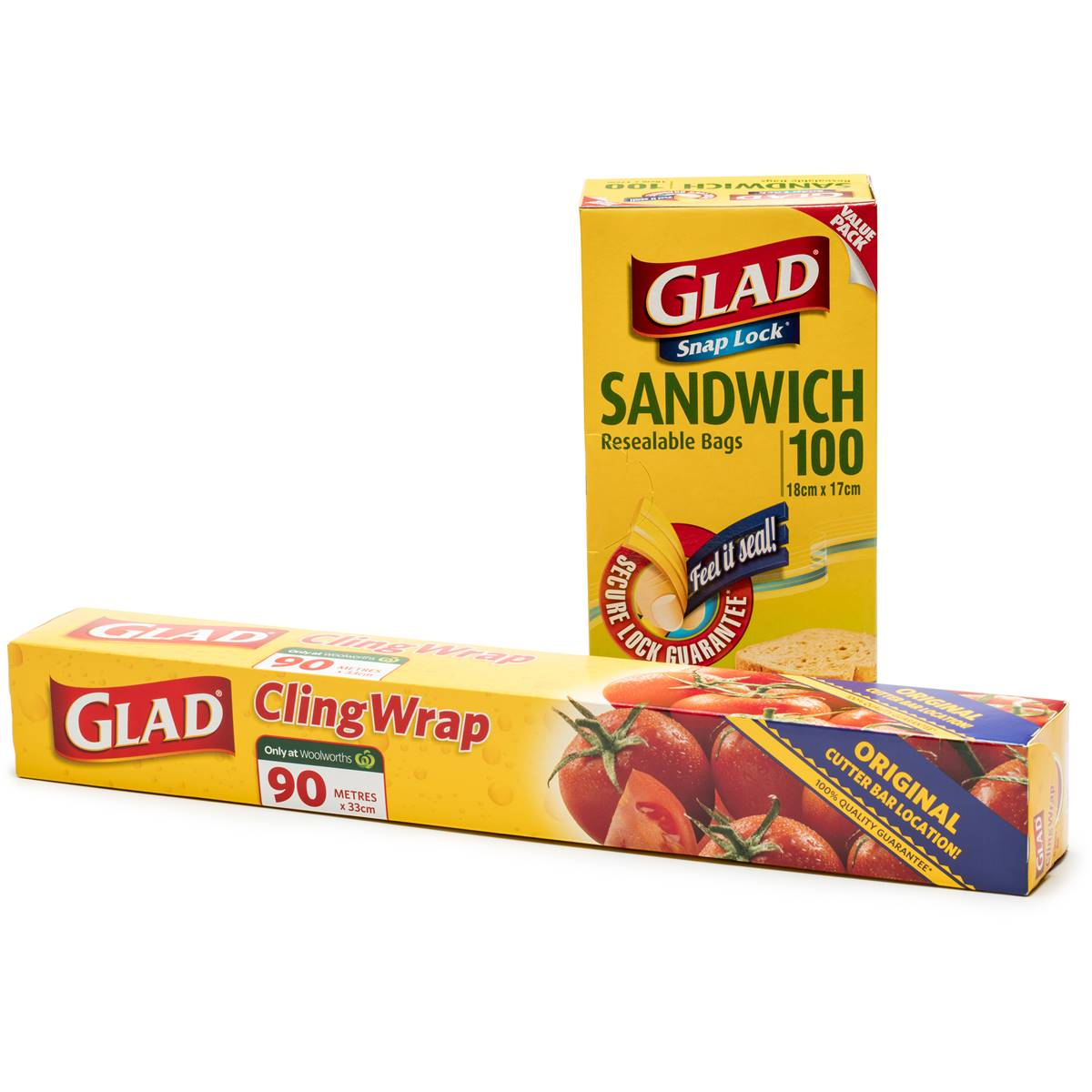 glad snap wrap snap lock sandwich bags cling wrap
