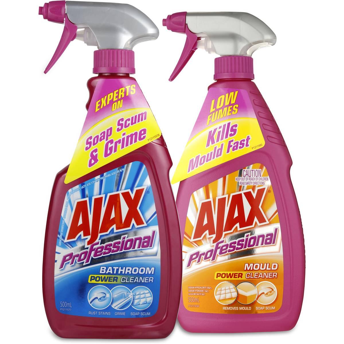 Ajax Professionals Bathroom Cleaner Bundle Image