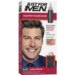 Just For Men Hair Colour Dark Brown 100g Woolworths