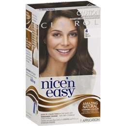 Clairol Nice N Easy 4 Natural Dark Brown each  c7b4df1e60c3