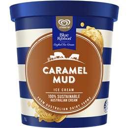 Streets Blue Ribbon Caramel Mud Ice Cream Tub