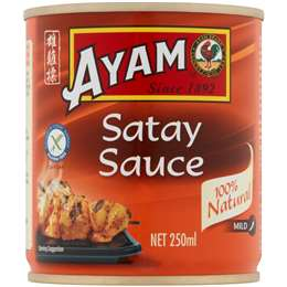 Ayam Satay Sauce 250ml Woolworths