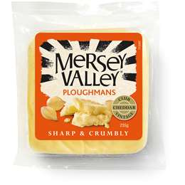 Mersey Valley Ploughmans Cheddar Cheese 235g