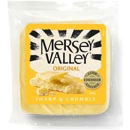 Mersey Valley Original Cheddar Cheese 235g