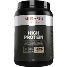 Musashi P30 Protein Powder Vanilla 900g