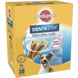Pedigree Dentastix Small Dog Treat 28 Pack Woolworths