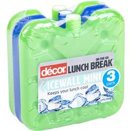 Decor ice wall cooler units