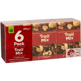 Woolworths Trail Mix  6x30g