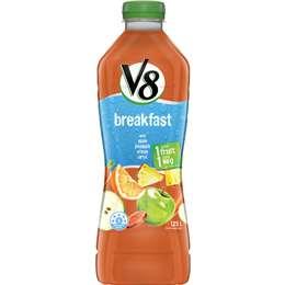 V8 Breakfast Fusion Vegetable Juice 1 25l Woolworths