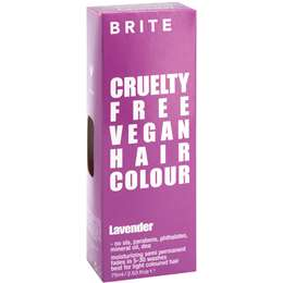 Brite Organix Semi Permanent Hair Colour Purple 75ml