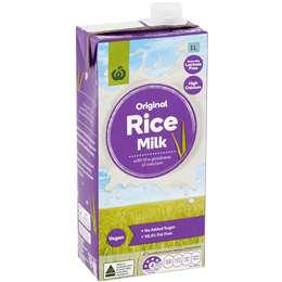 Woolworths Rice Milk 1l