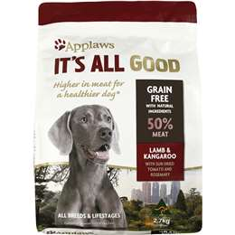 Applaws it 39 s all good dry dog food chicken turkey for How to cook a 7kg turkey