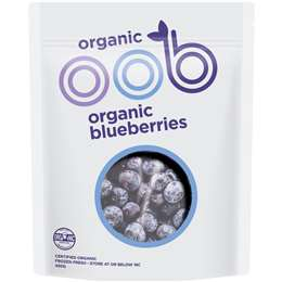 Oob Organic Frozen Blueberries  450g