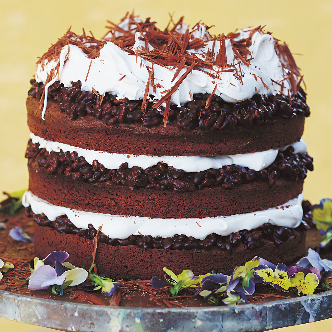 Celebration Cake Recipes: Jamie's Chocolate Celebration Cake Recipe