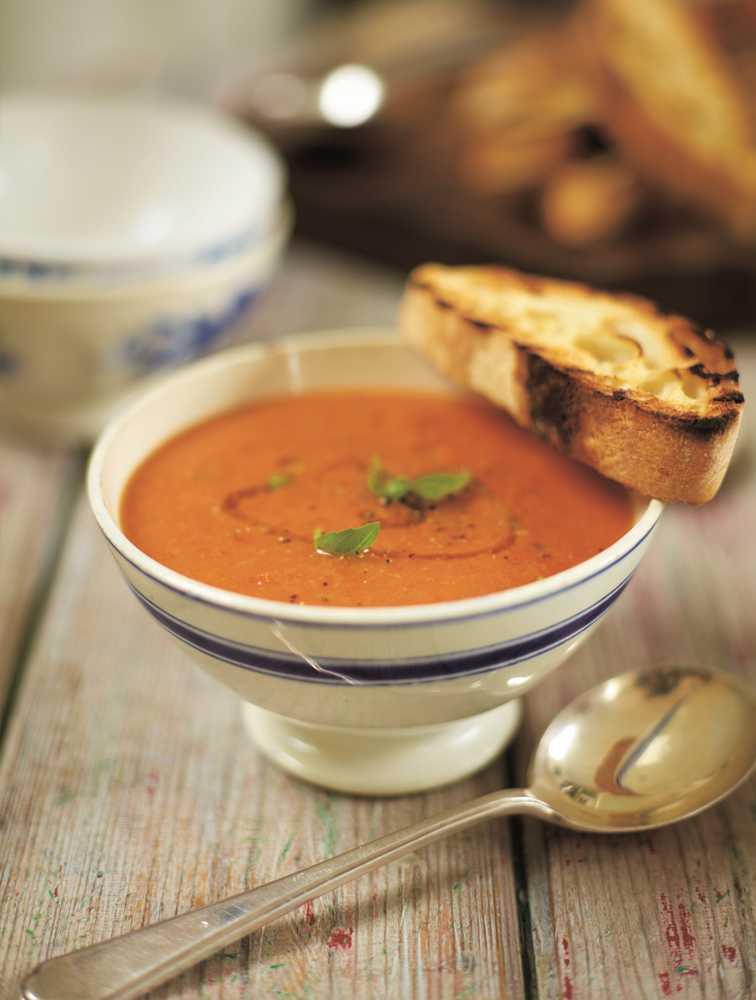 Jamie's Roast Tomato & Bread Soup Recipe   Woolworths