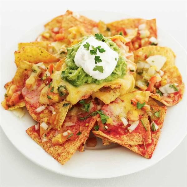 Nachos recipes woolworths mexican bean avocado nachos forumfinder Images